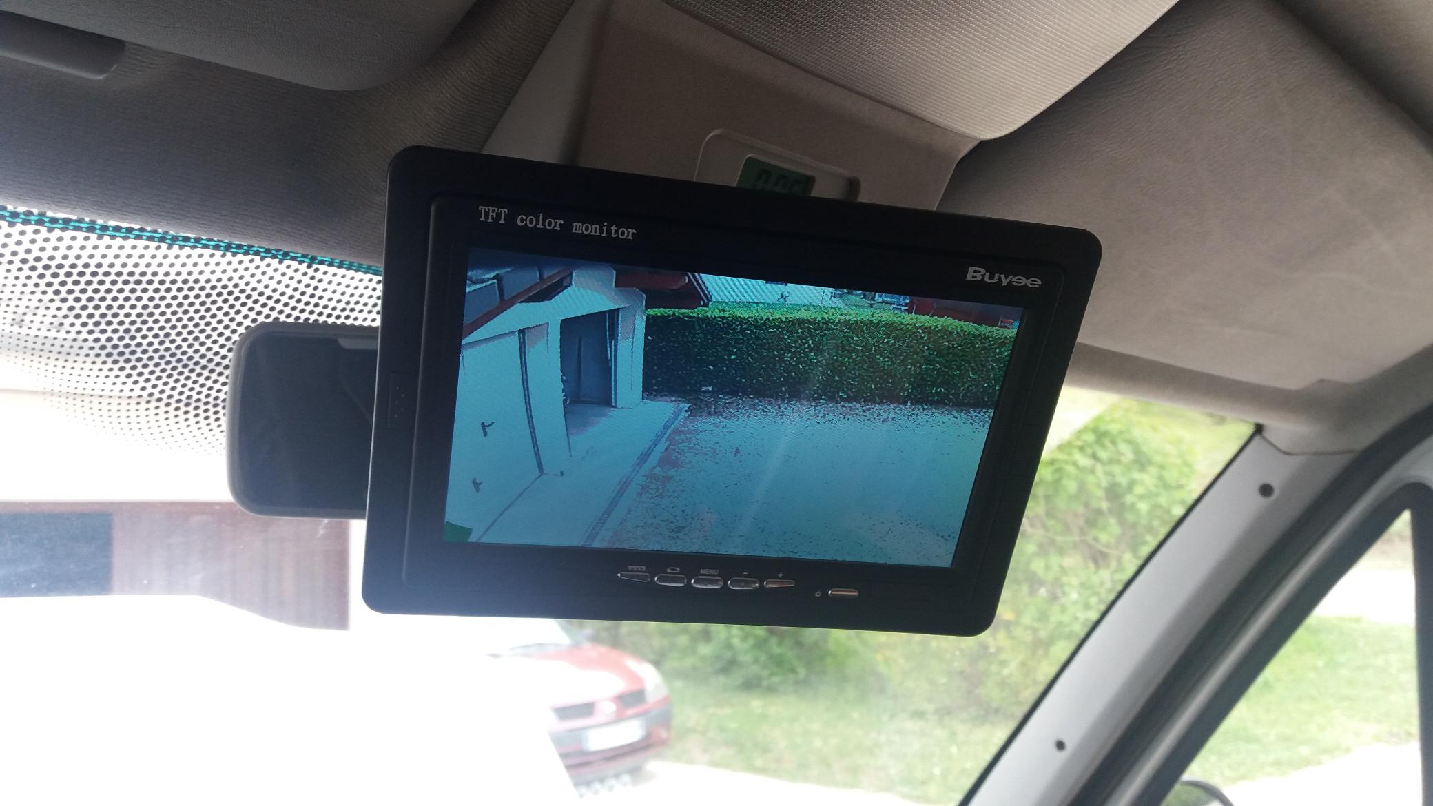 caméra de recul camping-car
